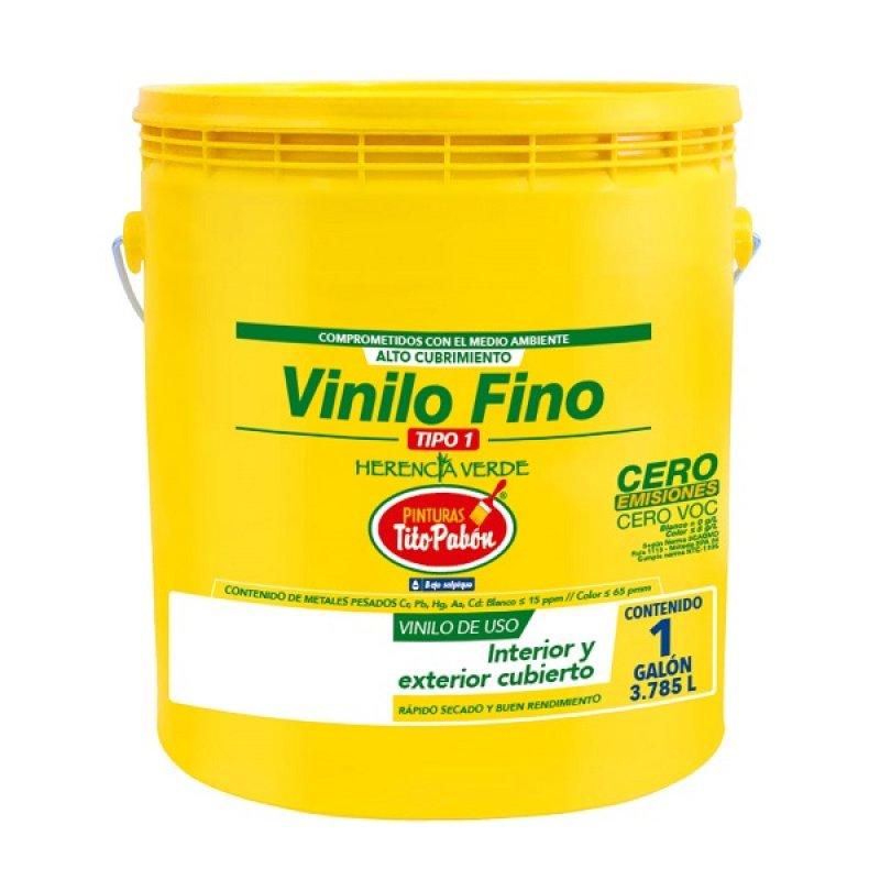 Vinilo T1 Fino 1Gl Rojo Colonial