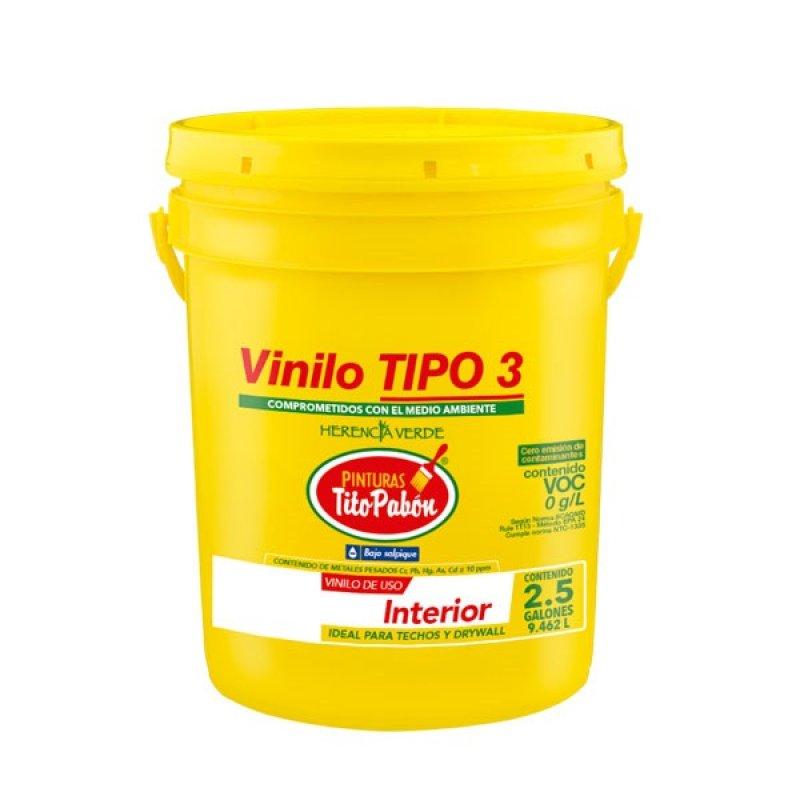 Vinilo Tipo 3 Interior Blanco x2.5gal