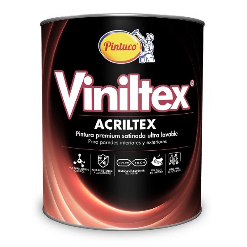 Vinilo Tipo 1 Acrílica Blanco x1/4gal