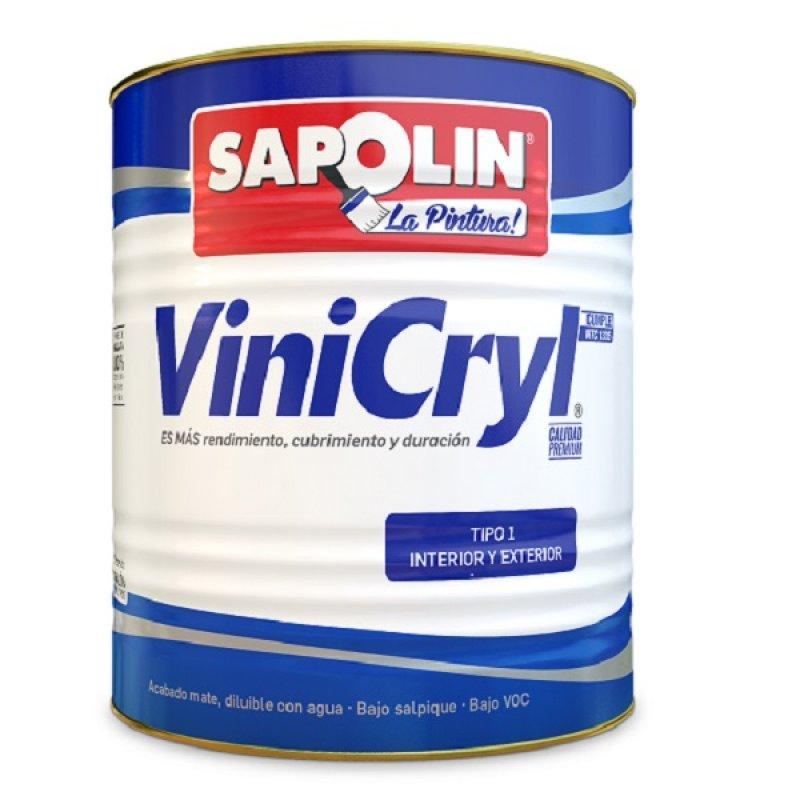 Vinilo Vinicryl T1 1Gl Blanco Real