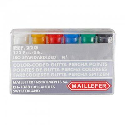 Conos de Gutapercha Maillefer Caja x 120 un