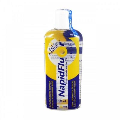 Napid-Flúor Neutro Floruro de Sodio al 2% en Gel Frasco x 120 ml