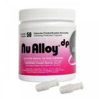Nu Alloy® Active Aleación Dental Cápsula Predosificada de 1 Dosis Tarro x 50 cápsulas