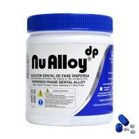 Nu Alloy® Aleación Dental Cápsula Predosificada de 1 Dosis Tarro x 50 cápsulas