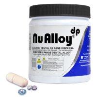 Nu Alloy® Aleación Dental Cápsula Predosificada de 2 Dosis Tarro x 50 cápsulas