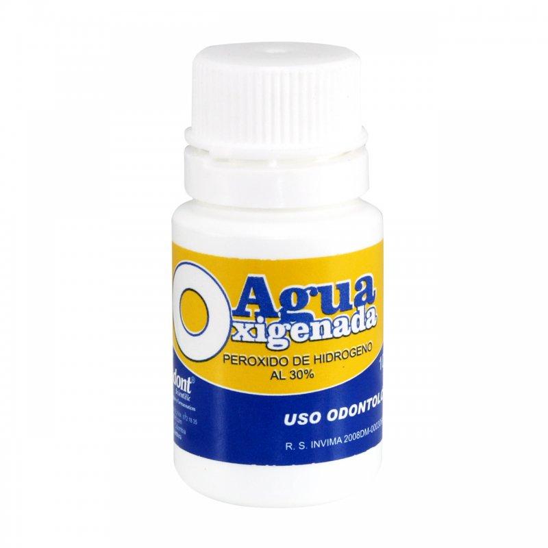 Agua Oxigenada al 30% Frasco x 10 ml