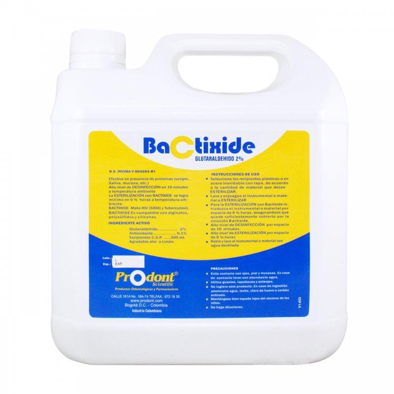 Bactixide Glutaraldehido al 2% Esterilizante Activado  x 1 gal