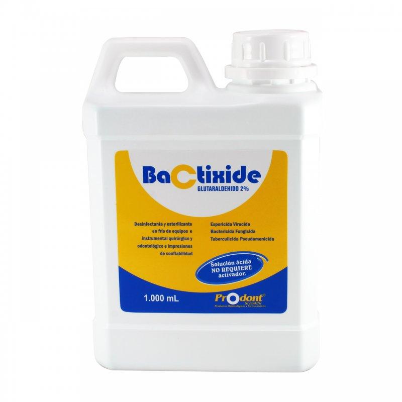 Bactixide Glutaraldehido al 2% Esterilizante Activado x 1000 ml