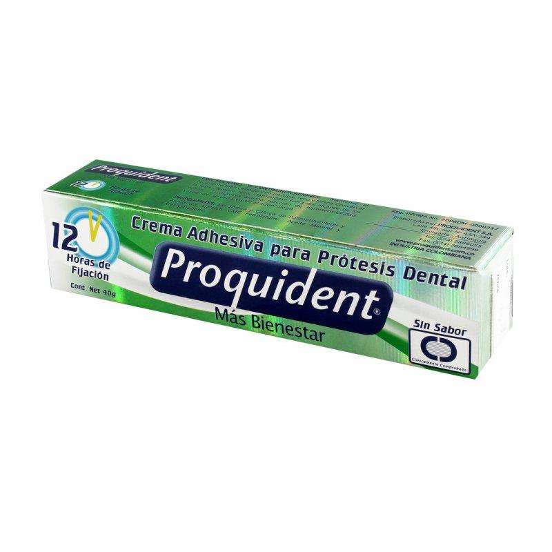 Crema Adhesiva Para Prótesis sin Sabor Tubo x 40 g
