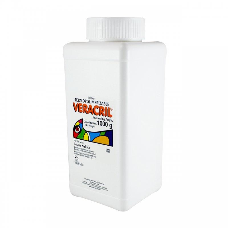 Veracril® Acrílico Termopolimerizable Jaspeado VRX Tarro x 1000 g